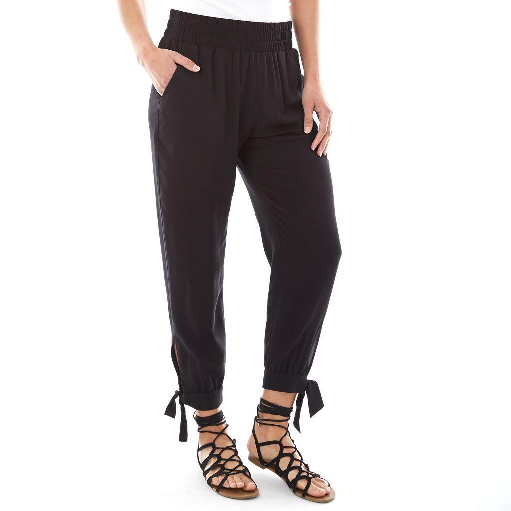 Women's Apt. 9® Smocked Soft Pants