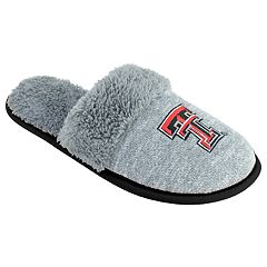 Women's Texas Tech Red Raiders Sherpa-Lined Clog Slippers