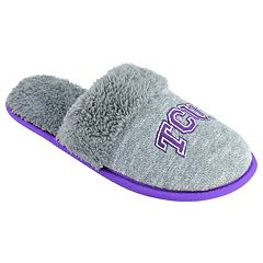 Women's TCU Horned Frogs Sherpa-Lined Clog Slippers