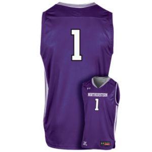Men's Under Armour Northwestern Wildcats Replica Basketball Jersey