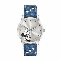 Disney's Minnie Mouse Kids' Denim Watch