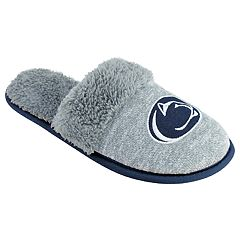 Women's Penn State Nittany Lions Sherpa-Lined Clog Slippers