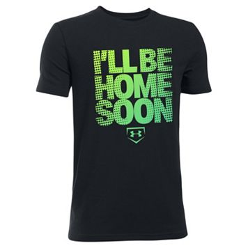 Boys 8-20 Under Armour I Will Be Home Soon Tee