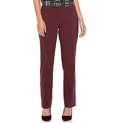 Women's Apt. 9® Torie Curvy Straight-Leg Dress Pants