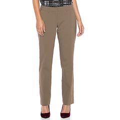 Women's Apt. 9® Torie Curvy Straight-Leg Dress Pants