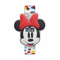 Disney's Minnie Mouse Kids' Polka Dot Digital Light-Up Watch