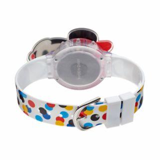 Disney's Minnie Mouse Kids' Polka Dot Digital Light-Up Watch