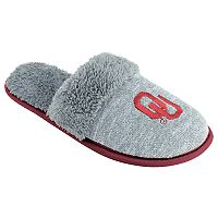 Women's Oklahoma Sooners Sherpa-Lined Clog Slippers