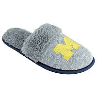Women's Michigan Wolverines Sherpa-Lined Clog Slippers
