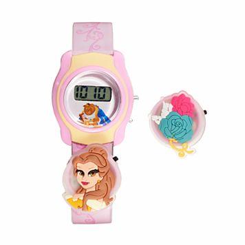 Disney's Beauty & The Beast Belle Kids' Digital Charm Watch