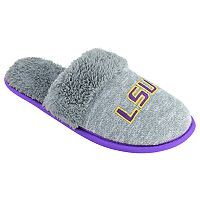 Women's LSU Tigers Sherpa-Lined Clog Slippers