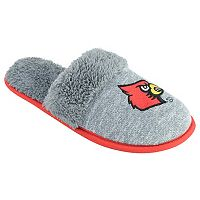 Women's Louisville Cardinals Sherpa-Lined Clog Slippers