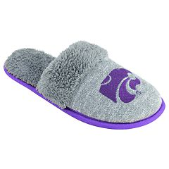 Women's Kansas State Wildcats Sherpa-Lined Clog Slippers