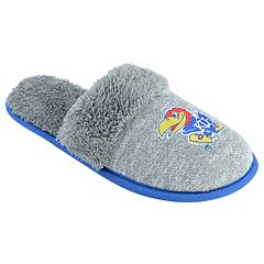 Women's Kansas Jayhawks Sherpa-Lined Clog Slippers