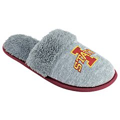 Women's Iowa State Cyclones Sherpa-Lined Clog Slippers