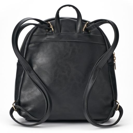 Yoki Diagonal Zipper Backpack