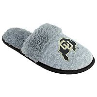 Women's Colorado Buffaloes Sherpa-Lined Clog Slippers