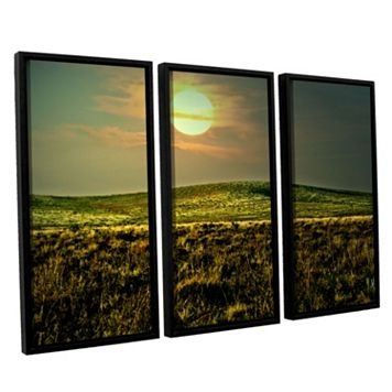 ArtWall Corner Pocket Framed Wall Art 3-piece Set