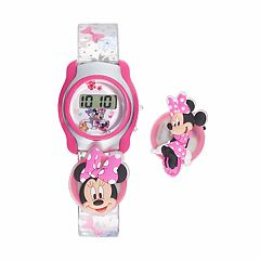 Disney's Minnie Mouse Kids' Digital Charm Watch