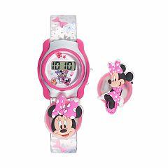 Disney's Minnie Mouse Kids' Digital Charm Watch