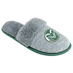 Women's Colorado State Rams Sherpa-Lined Clog Slippers