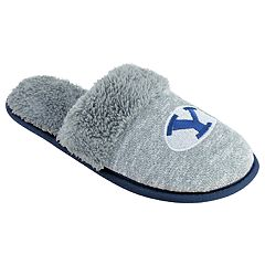 Women's BYU Cougars Sherpa-Lined Clog Slippers