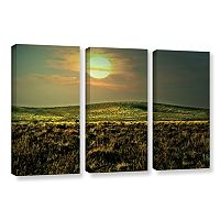 ArtWall Corner Pocket Canvas Wall Art 3 pc Set