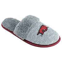 Women's Arkansas Razorbacks Sherpa-Lined Clog Slippers