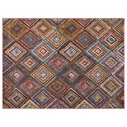 Concord Global Diamond Sterling Geometric Rug