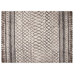 Concord Global Diamond Vintage Geometric Rug