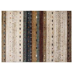 Concord Global Diamond Gabbeh Striped Rug