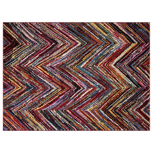 Concord Global Diamond Chevron Rug