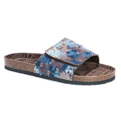 MUK LUKS Jackson Men's ... Sandals discount fast delivery hPlO0
