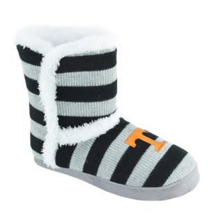 Women's Tennessee Volunteers Striped Boot Slippers