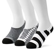 Men's Converse 3-pack Made For Chucks Patterned Liner Socks