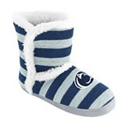 Women's Penn State Nittany Lions Striped Boot Slippers