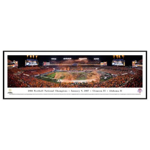 Clemson Tigers 2016 National Champions Framed Wall Art