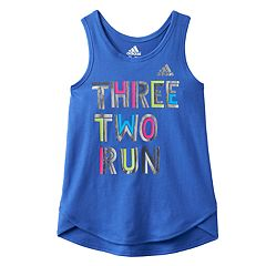 Girls 4-6x adidas Graphic Tank Top