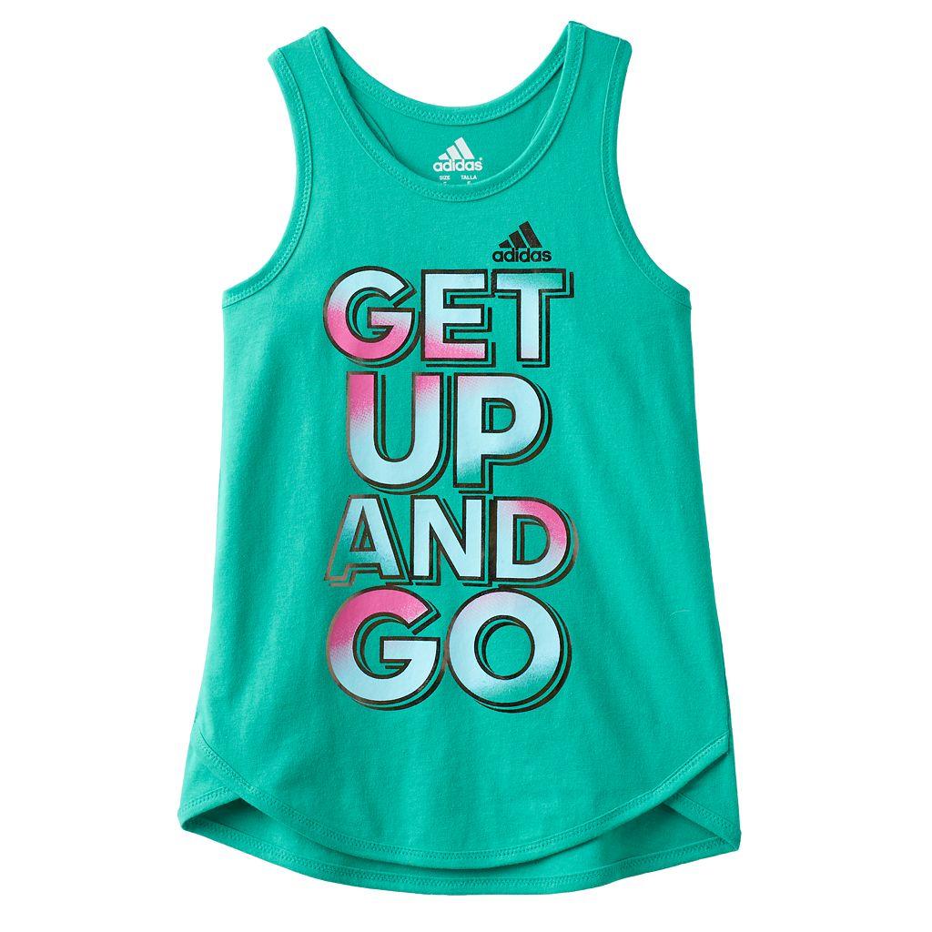 Girls 4-6x adidas Graphic Tank Top