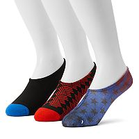 Men's Converse 3-pack Made For Chucks Americana Liner Socks