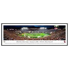 USC Trojans Rose Bowl Game Framed Wall Art