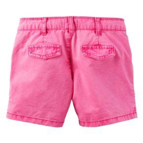 Toddler Girl Carter's Roll-Cuff Shorts