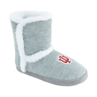 Women's Indiana Hoosiers Striped Boot Slippers
