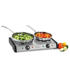 Cuisinart Cast Iron Double Burner