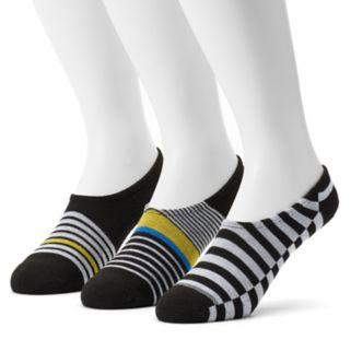 Men's Converse 3-pack Made For Chucks Striped Liner Socks