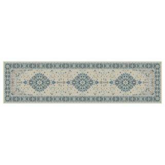 Concord Global Kashan Medallion Framed Floral Rug