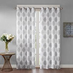Madison Park 1-Panel Indra Window Curtain