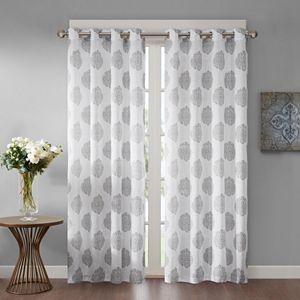 Madison Park 1-Panel Indra Window Curtain
