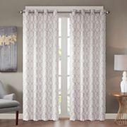Madison Park Bonwitt Embroidered Window Curtain