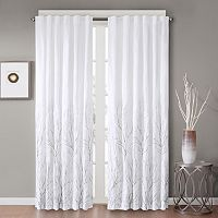 Madison Park Savoy Embroidered Window Curtain